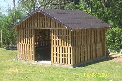 Wood Shed Design