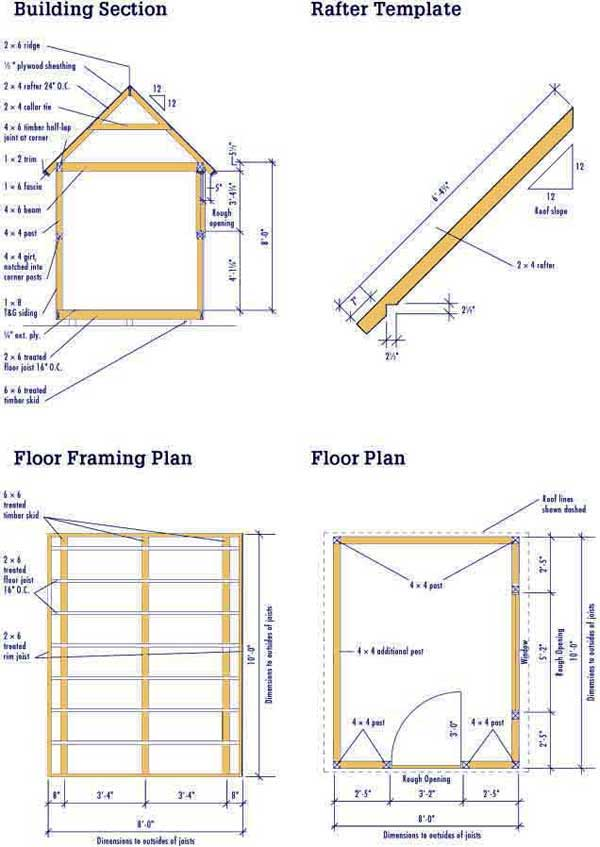 Wood shed plan a review of my shed plans shed blueprints for Wood shed plans