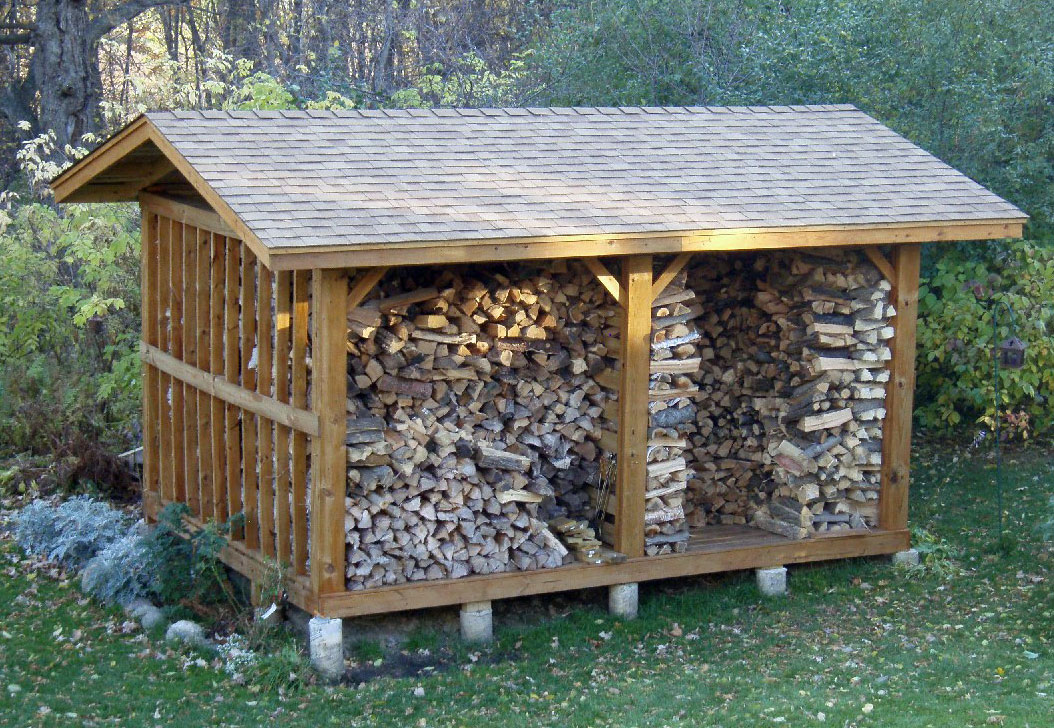 Shed Design Plan Building A Firewood Shed also Firewood Rack Plans ...