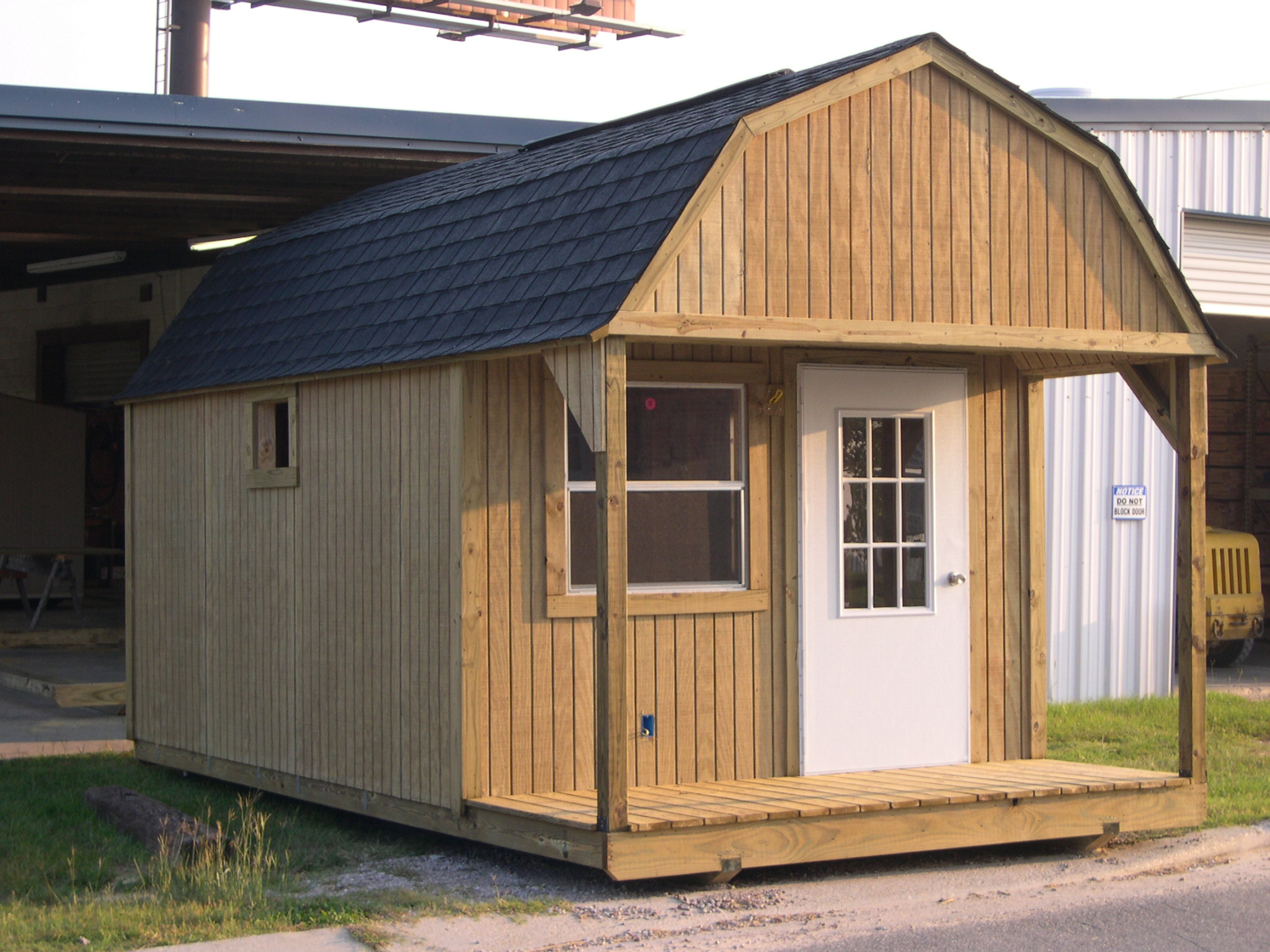 Storage Building Plans – Constructing Wood Storage Plans With ...