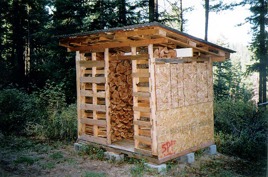 Wood Storage Building