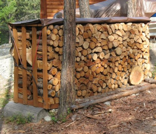 Wood Storage Shed Designs