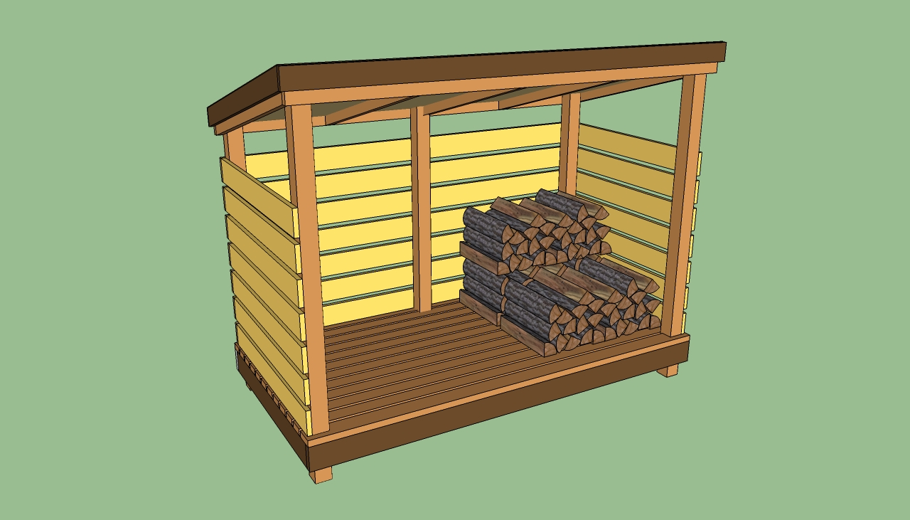 plans for wood storage sheds
