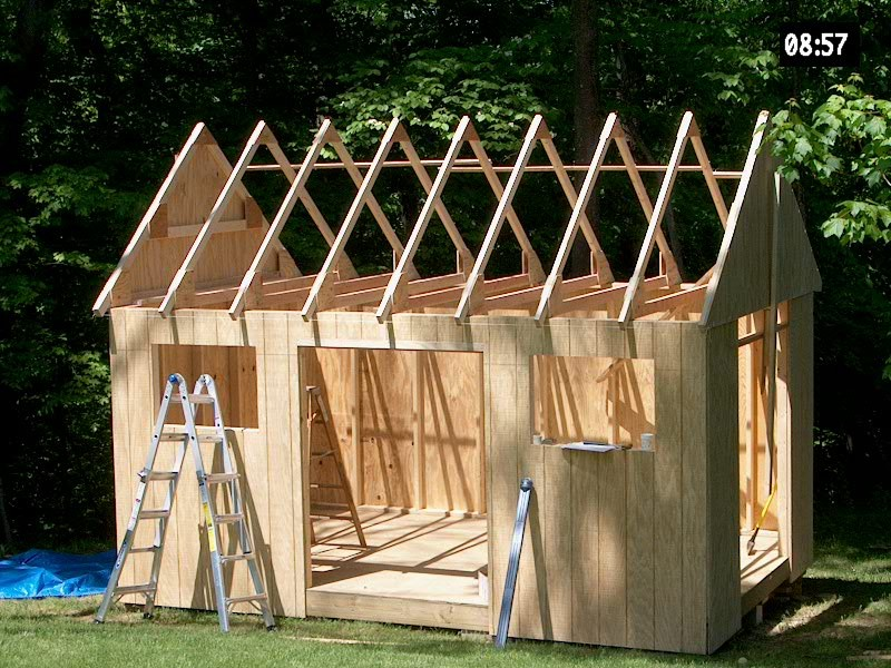 Wooden Shed Building Plans And Designs To Save Time And