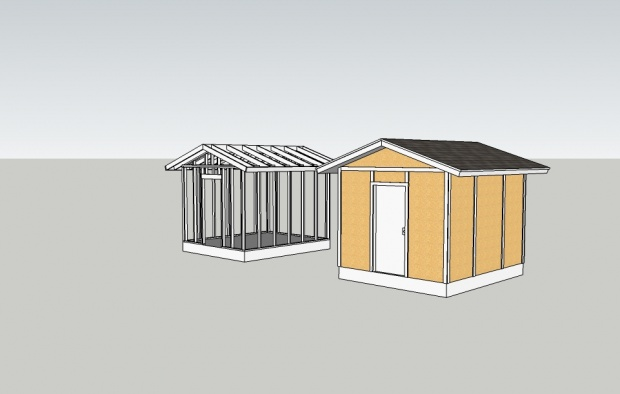 Wooden Shed Plan