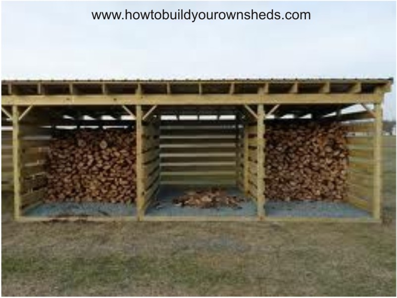 plans for building a wood shed