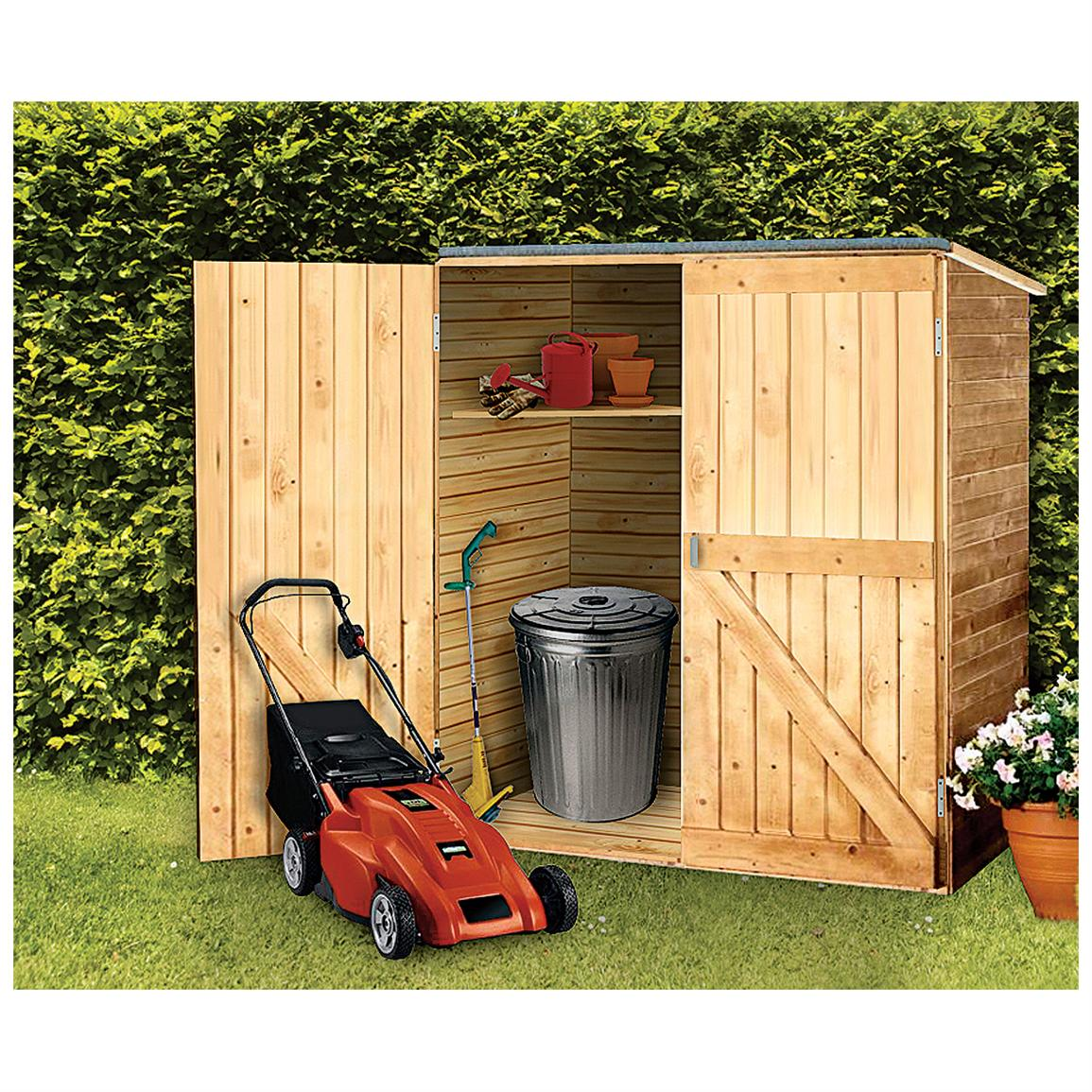 Shed blueprints wooden storage shed for Building a storage shed