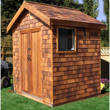 Wooden Storage Shed