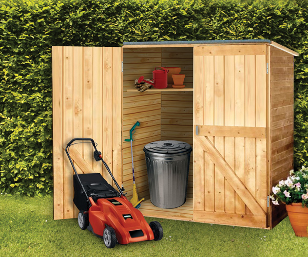 Small wood outdoor storage sheds build your own shed online for Build your own barn online