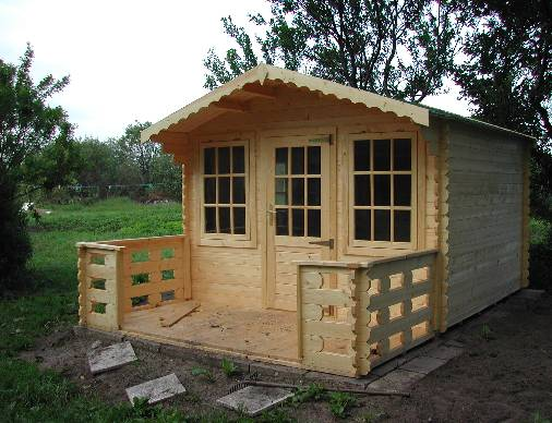 Garden sheds for work play shed blueprints for Farm shed ideas