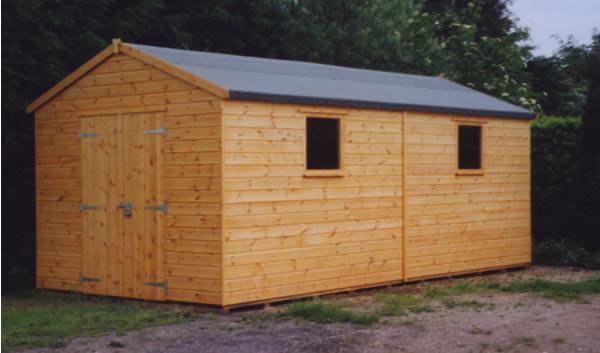 workshop shed - Garden Sheds Workshops