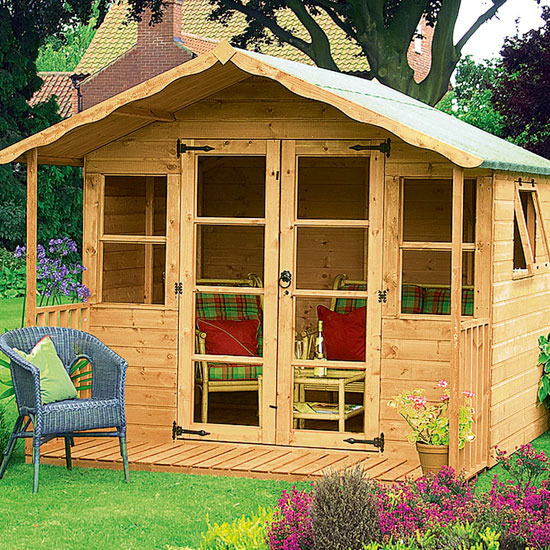 Yard shed plans explored shed blueprints for Garden designs with summer house