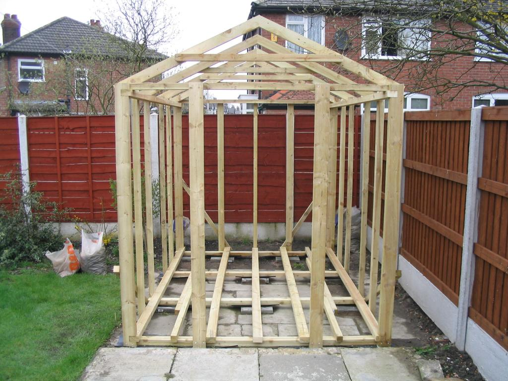 How to build a shed on skids shed blueprints - Backyard sheds plans ideas ...