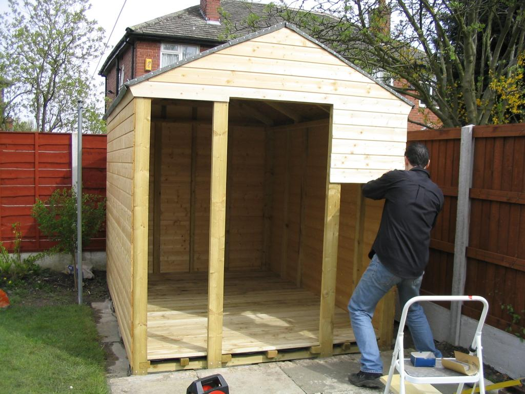 How to build a shed on skids shed blueprints for Shed construction
