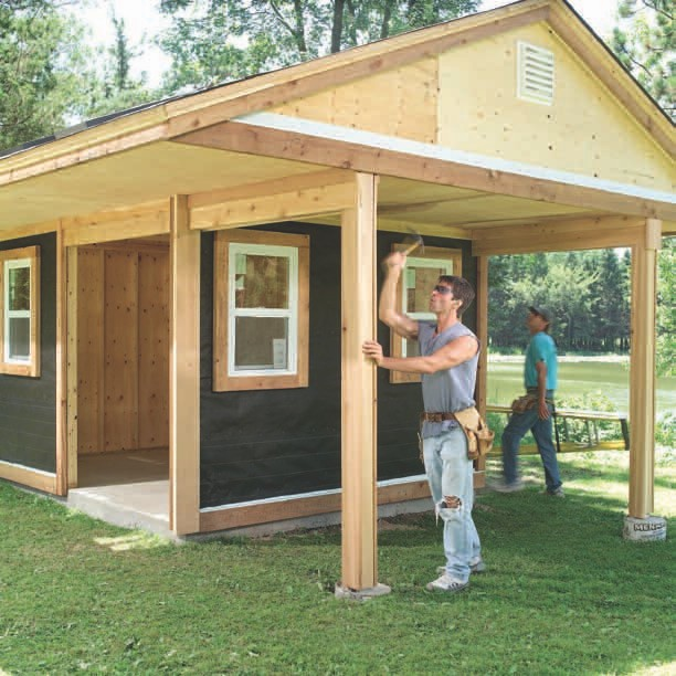 Wood Shed Plans Online DIY Woodworking PDF Plans