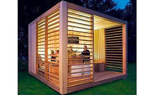 Garden shed design and plans shed blueprints for Modern garden shed designs