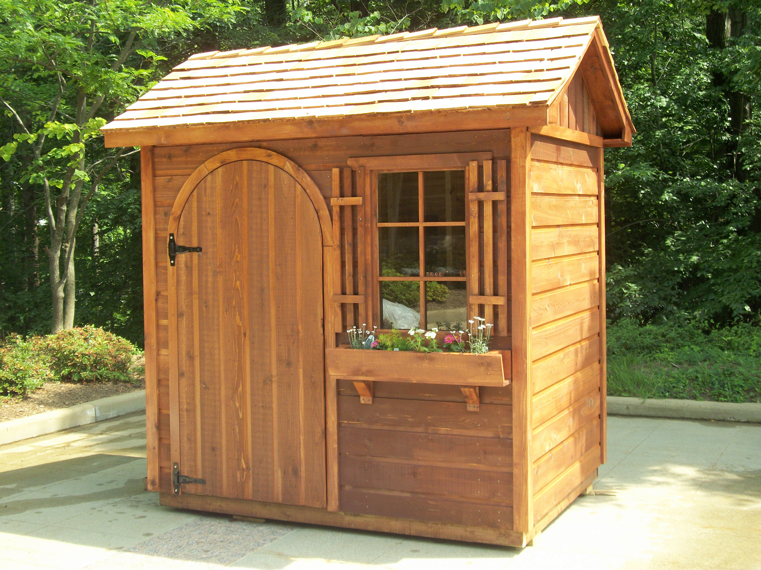 Garden shed design and plans shed blueprints for Garden shed pictures