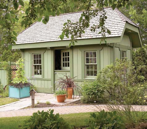 Pin Quaint Garden Sheds on Pinterest