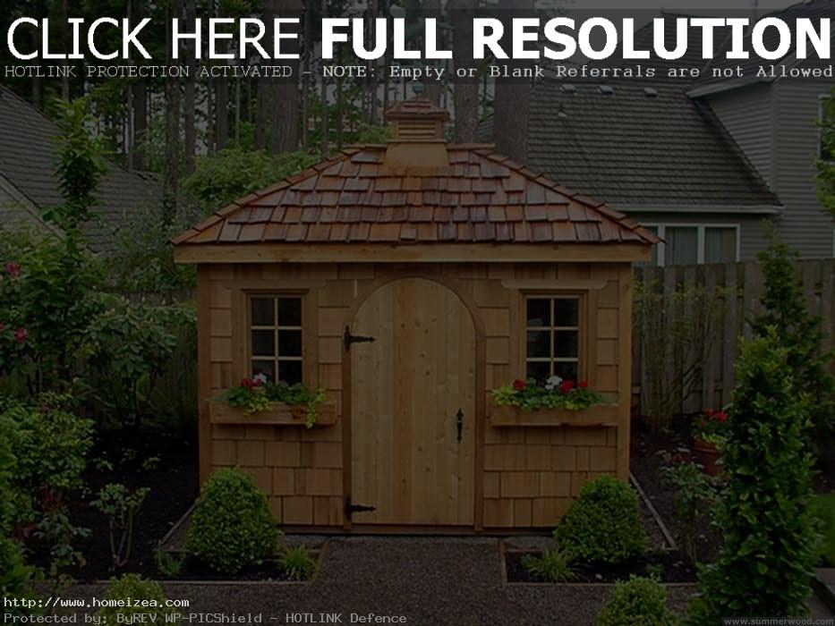 Garden Sheds Designs