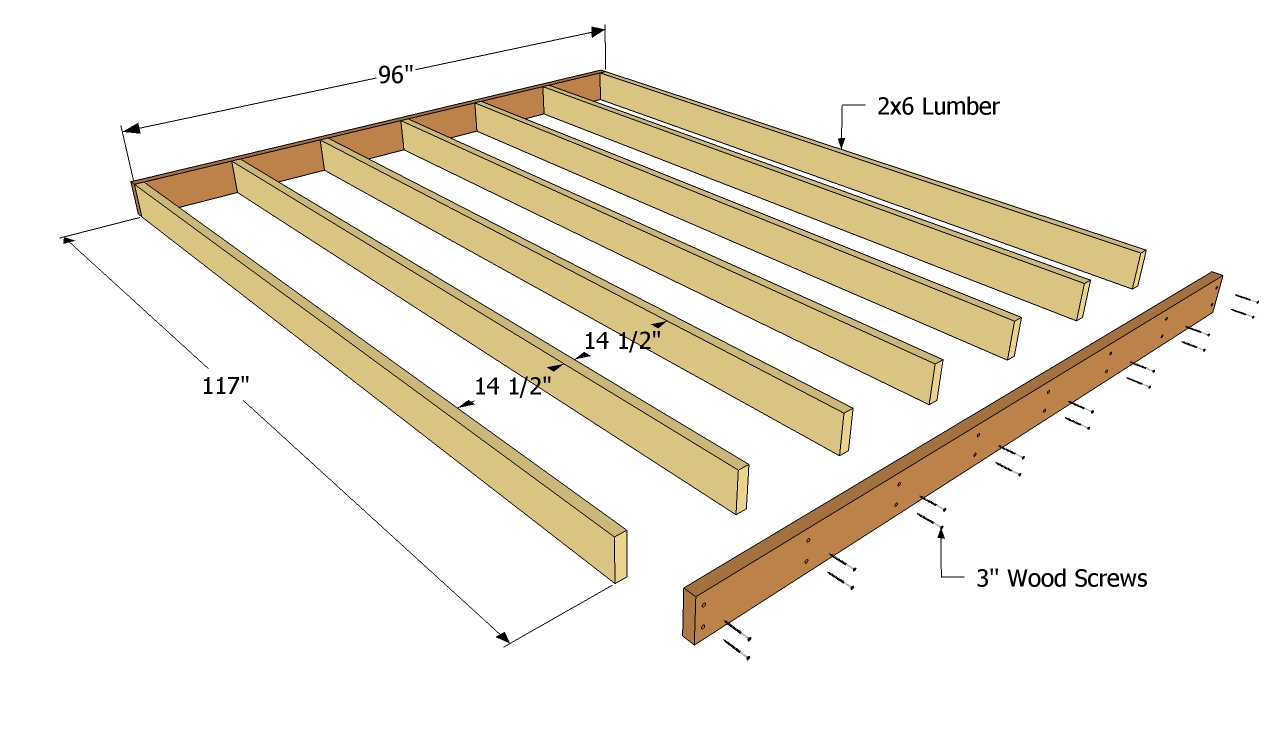Free Storage Shed Building Plans