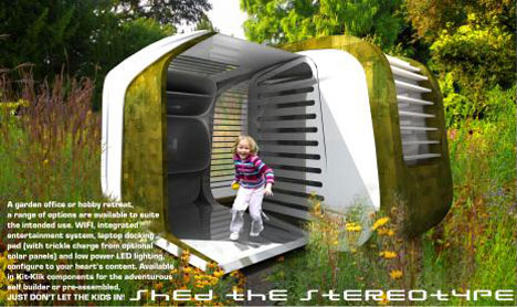 Shed Design Integrating Your Garden Into
