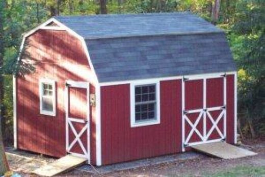 Integrating your garden shed design into your garden shed for Mini barn shed