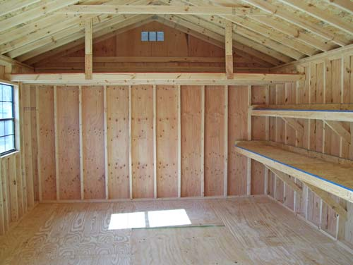 Large shed plans picking the best shed for your yard for Wood storage building plans