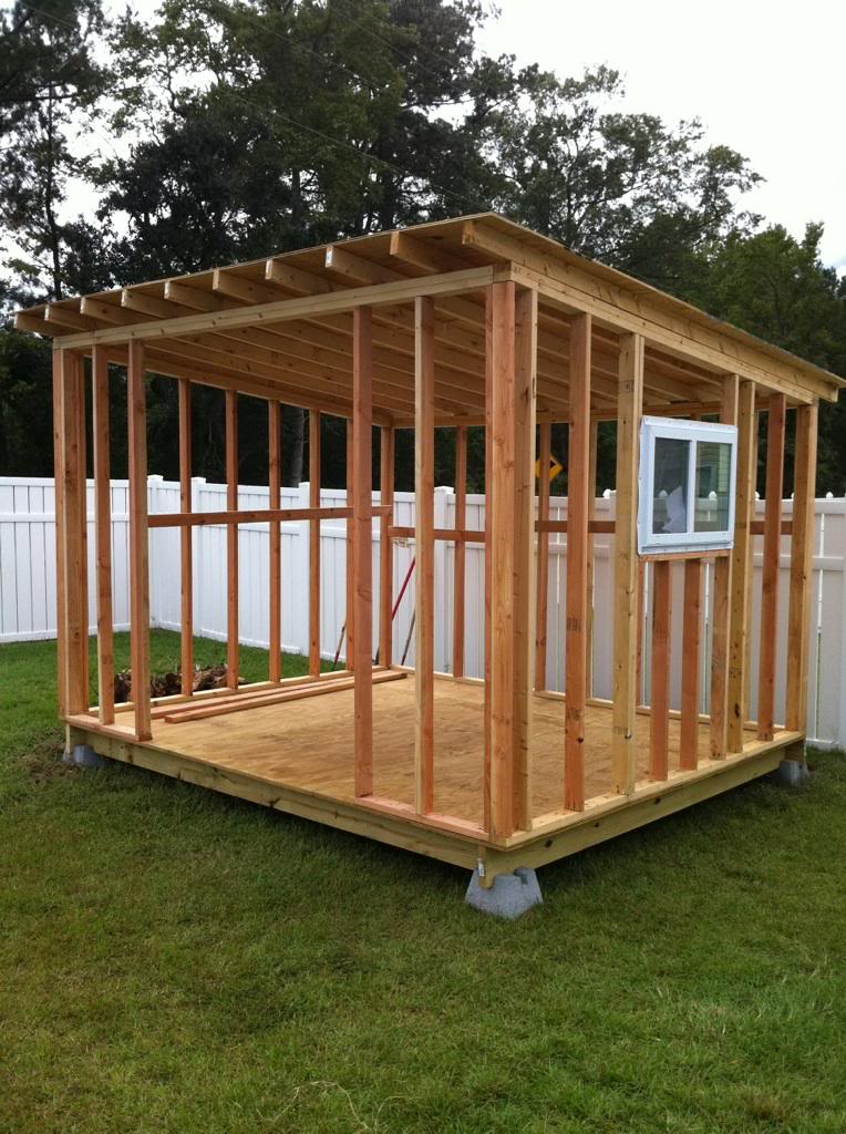 Roof Design Ideas: Some Simple Storage Shed Designs