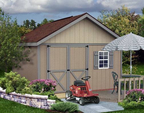 Outside Shed Ideas : Some Simple Storage Shed Designs  Shed Blueprints
