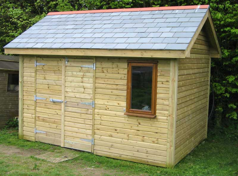 ... Wooden Shed – Steps For Constructing A Shed | Shed Blueprints