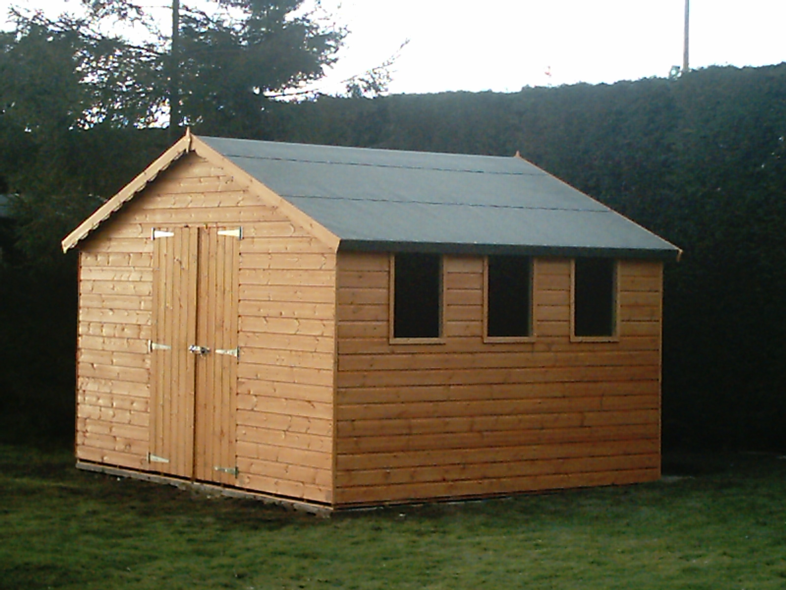 Shed Blueprints: How To Build A Wooden Shed - Steps For ...