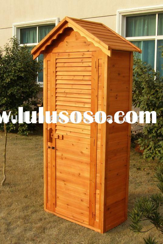 Small wood garden tool shed, free plans for child's ...