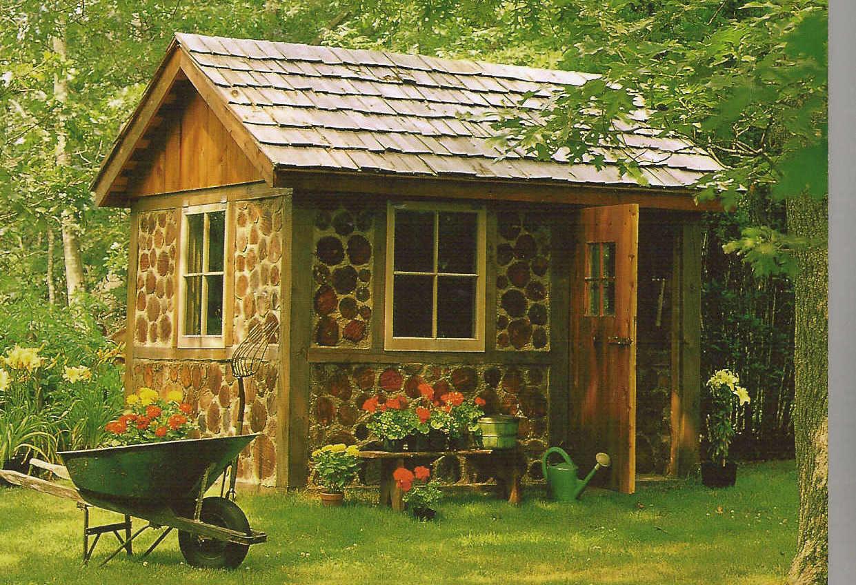 Garden Shed Designs Blueprints